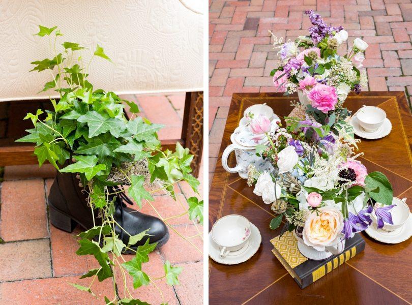 Floral arrangements by the English Garden Raleigh Florist
