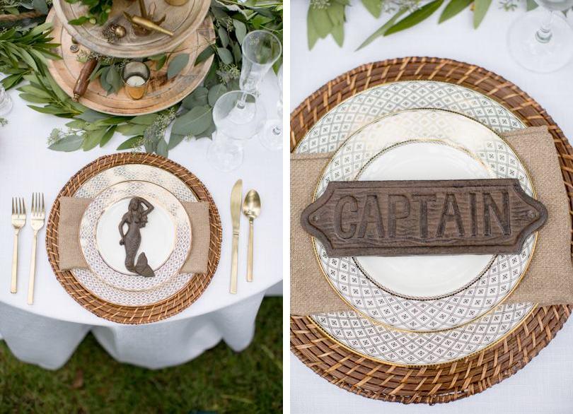 Nautical themed wedding inspiration