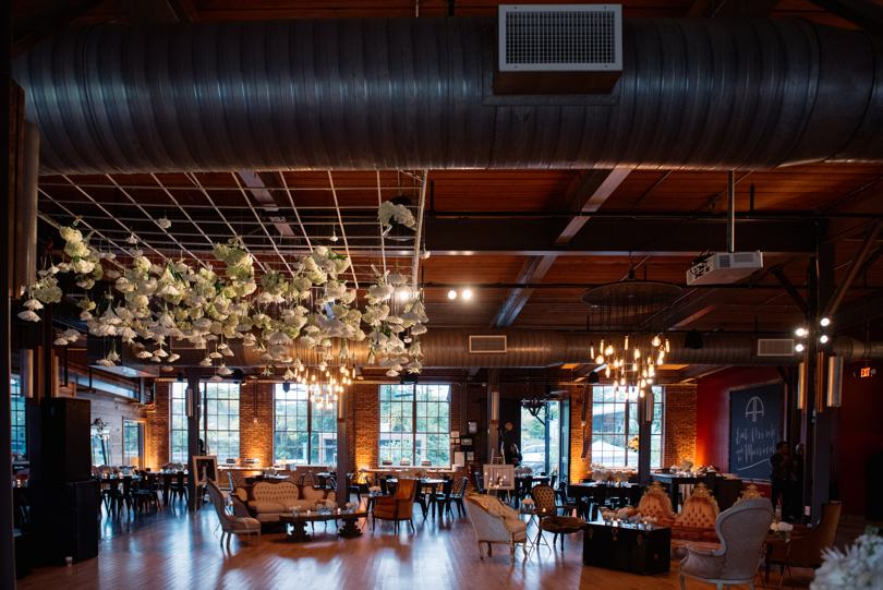 New modern wedding event venues in the Triangle