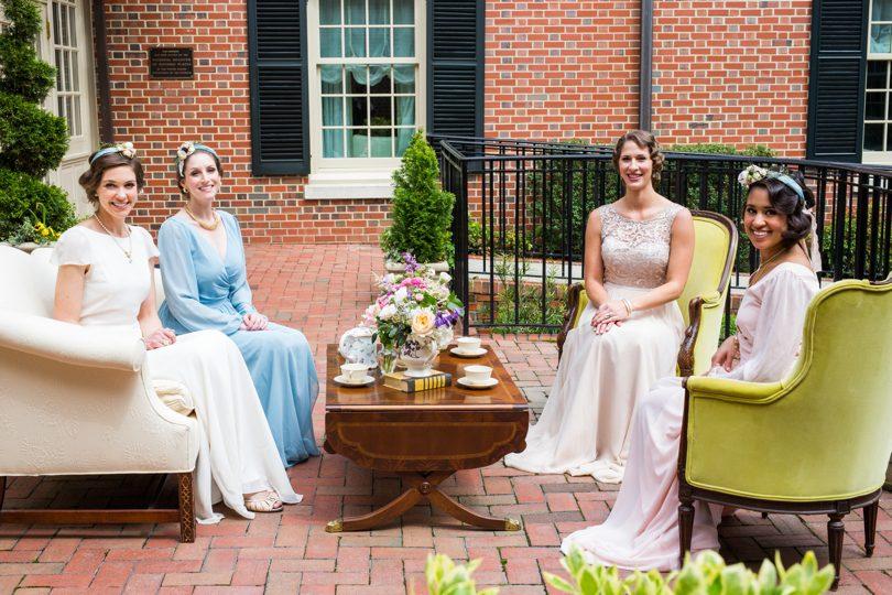 Outdoor weddings at The Carolina Inn
