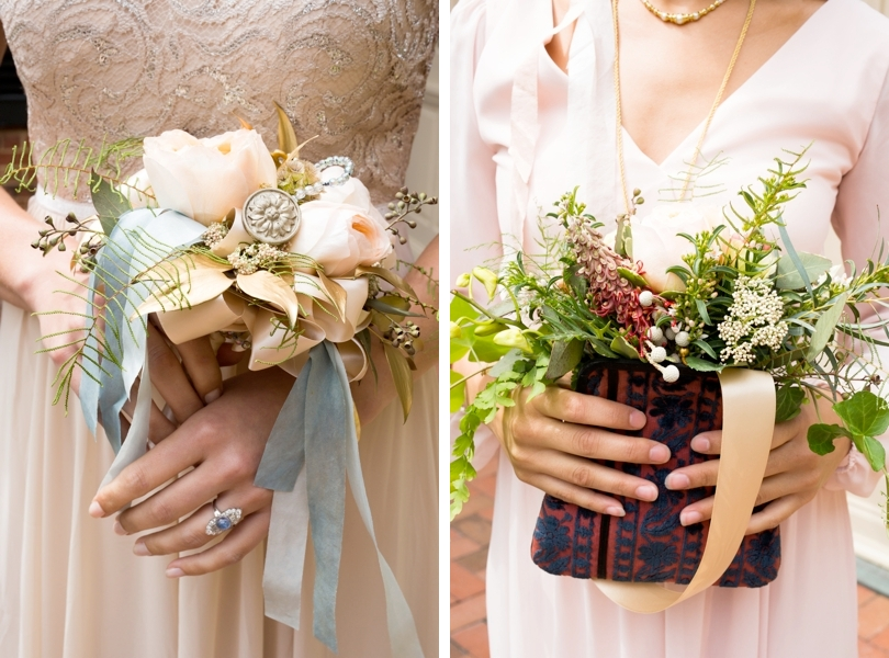 Raleigh florist and bridesmaids bouquets