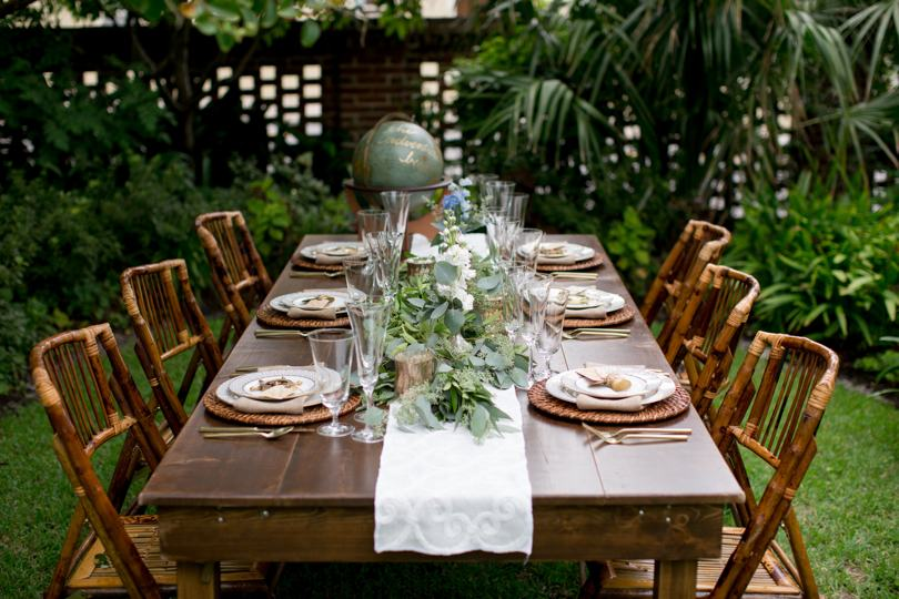 Rustic and natural wedding colors and theme
