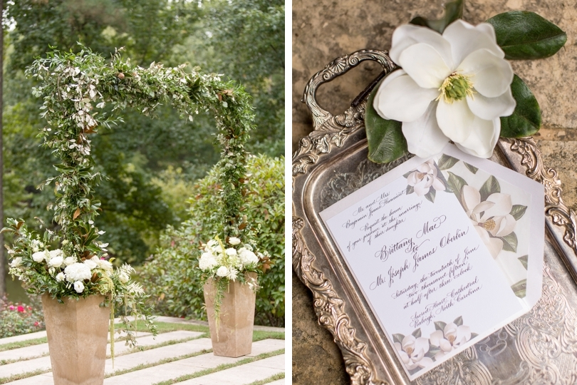 Vintage classic elegent southern style wedding