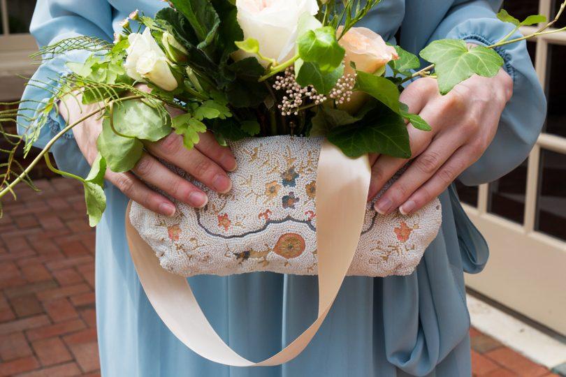 Vintage handbags and purses for bridesmaids