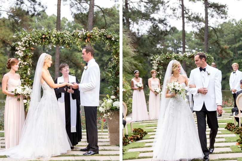Waterfront wedding at Umstead Hotel and Spa in Cary NC