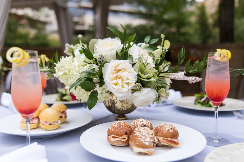 Wedding catering by The Umstead Hotel and Spa