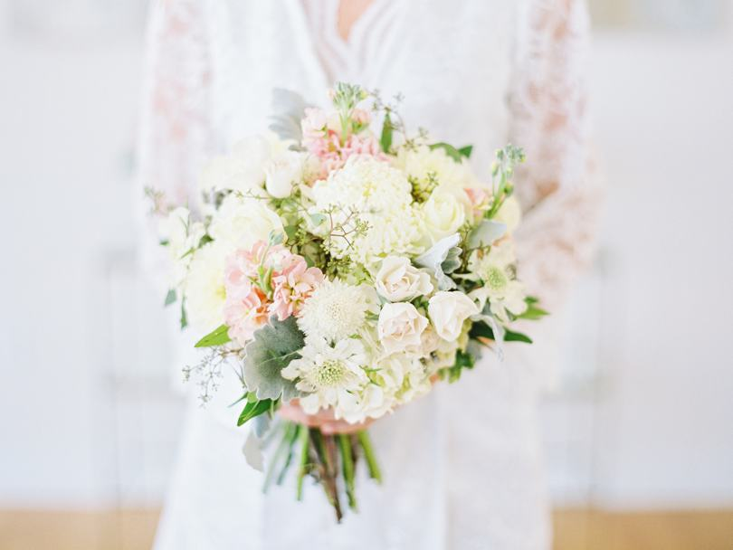Bridal bouquet by Raleigh Florist The English Garden