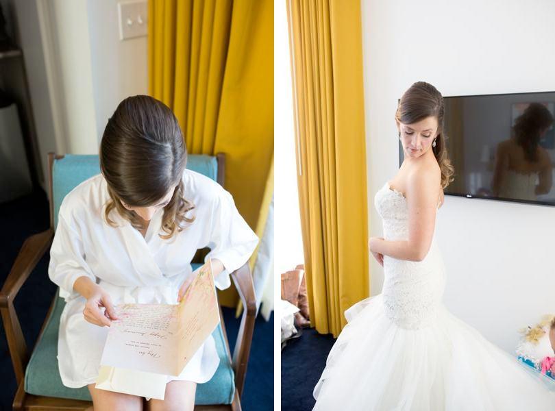 Bride at The Durham Hotel