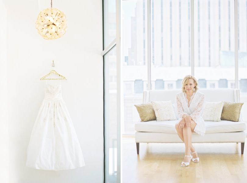 Downtown Raleigh bridal suite The Glass Box