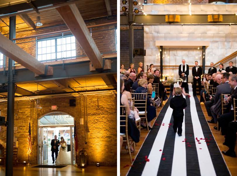 Getting married at Bay 7 in Durham