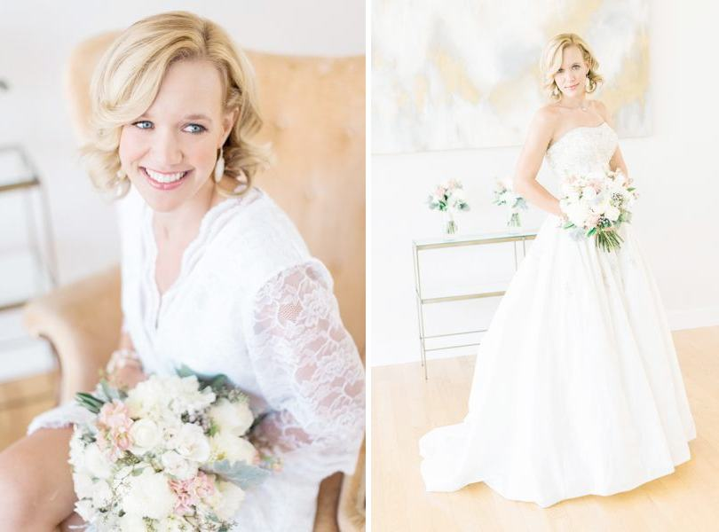 Natural look bridal makeup by Makeup for Your Day Raleigh