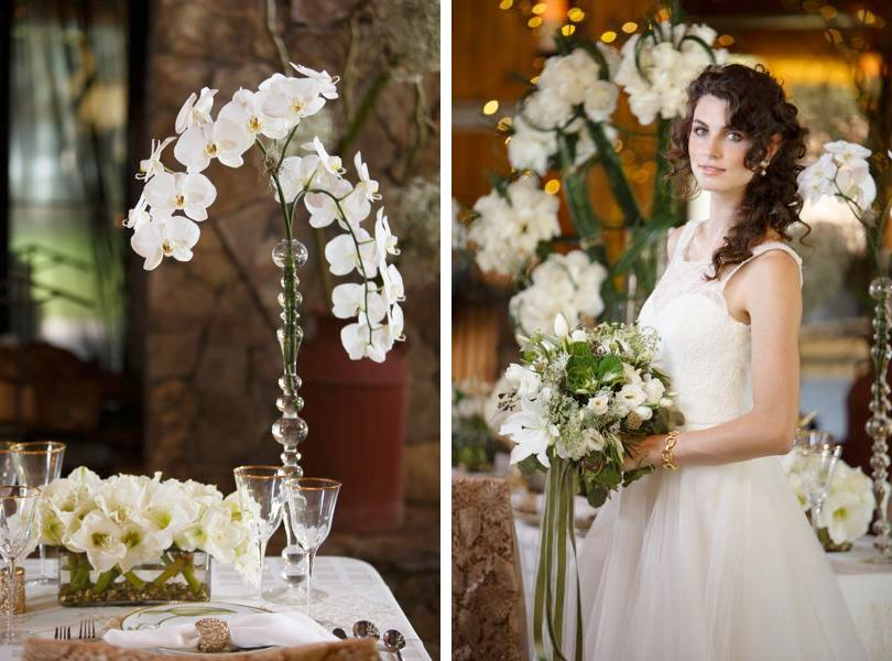 Orchids used in wedding