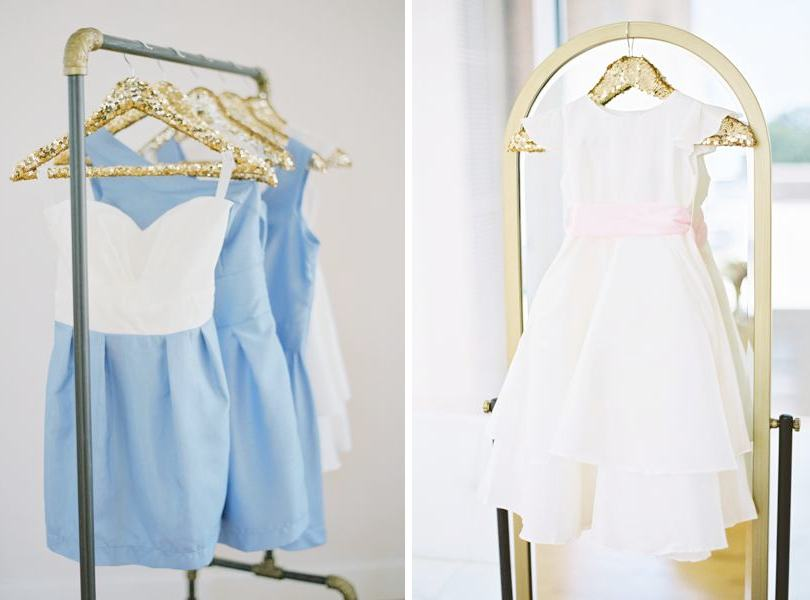 Frill clothing light blue bridesmaid dresses