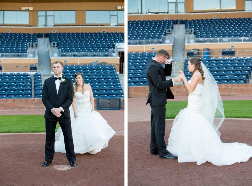 Sported themed wedding photo ideas