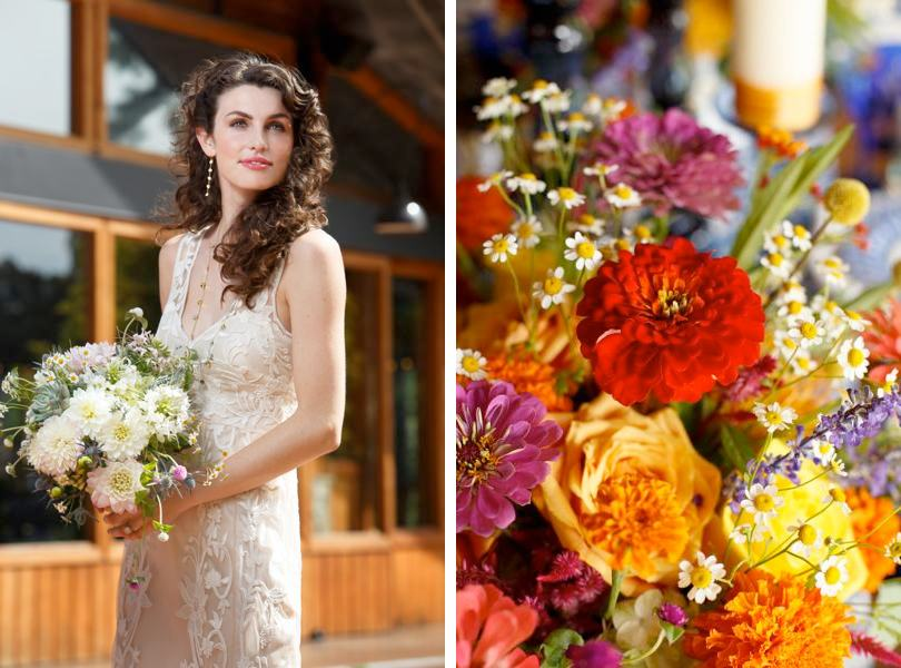 Bridal bouquets by Catering Works Raleigh Florist