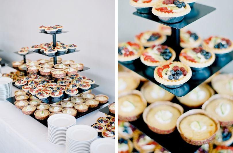 Fruit tarts from Edible Art Bakery Raleigh