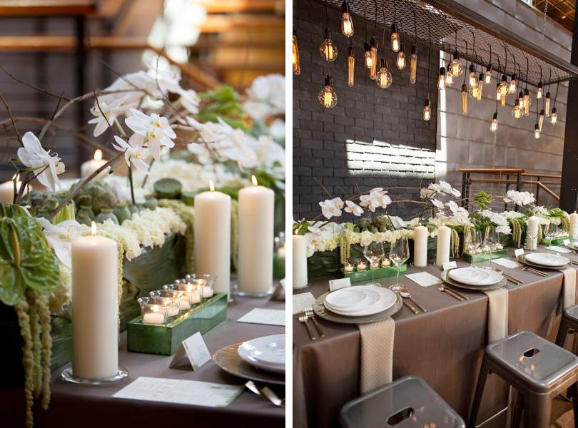 Industrial chic wedding inspiration