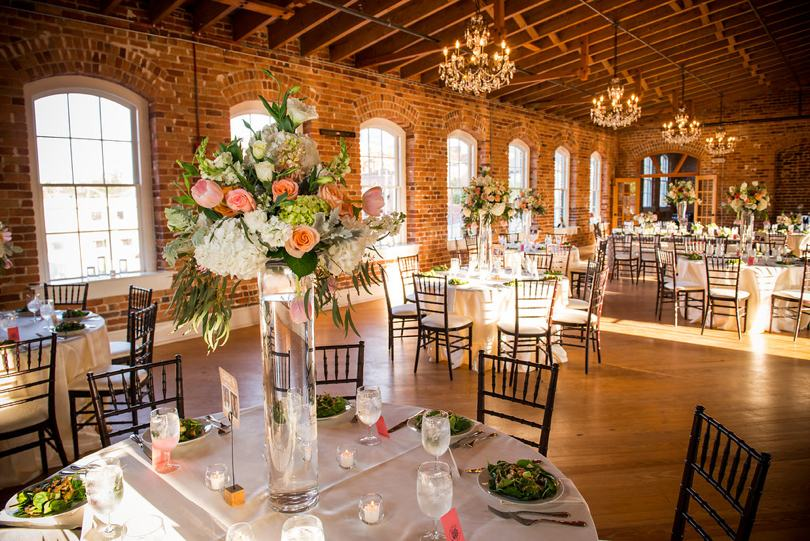 Melrose Knitting Mill Raleigh wedding venue