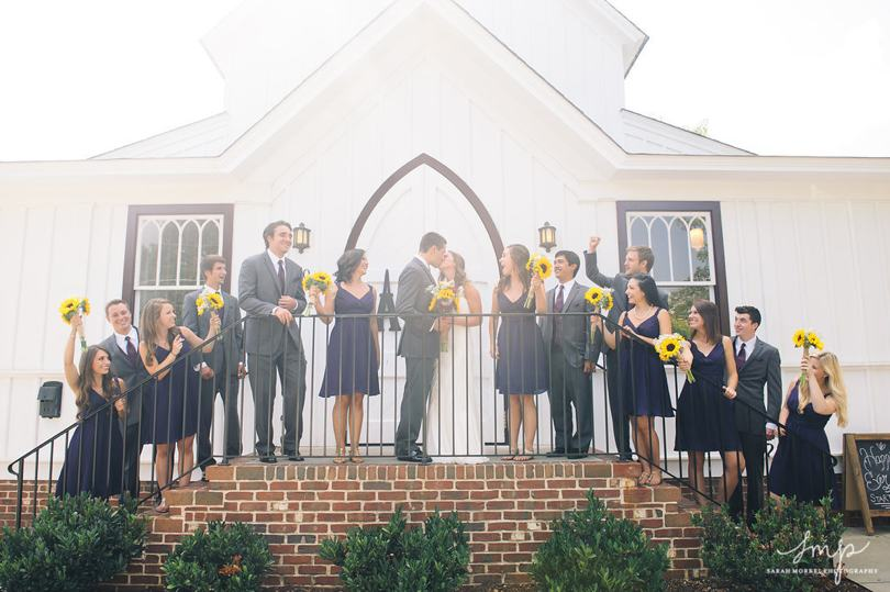 Southern weddings at All Saints Chapel