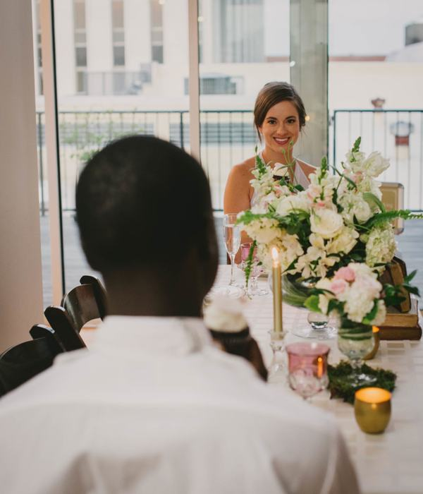 Styled shoot at The Glass Box