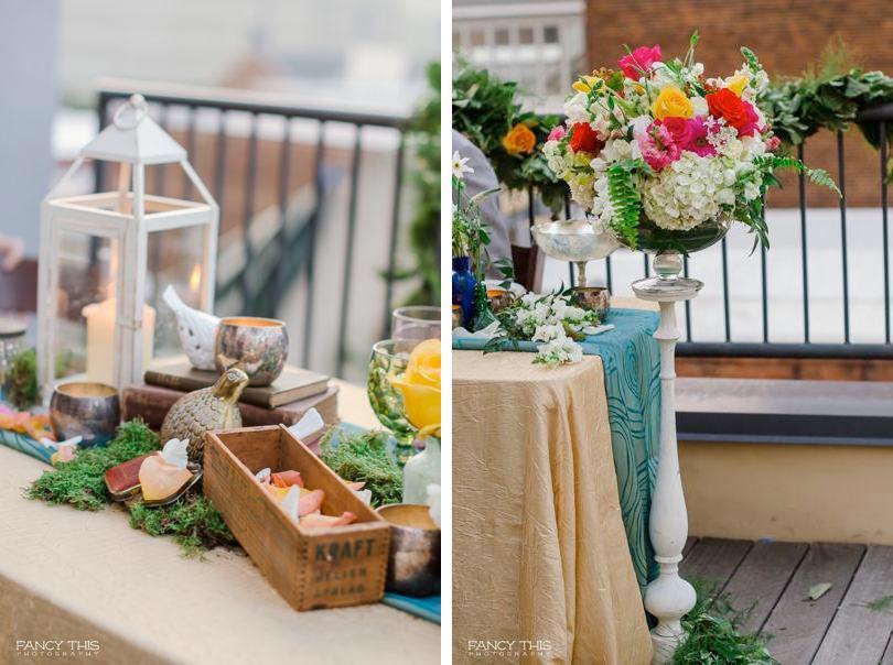 Wedding styled shoot ideas
