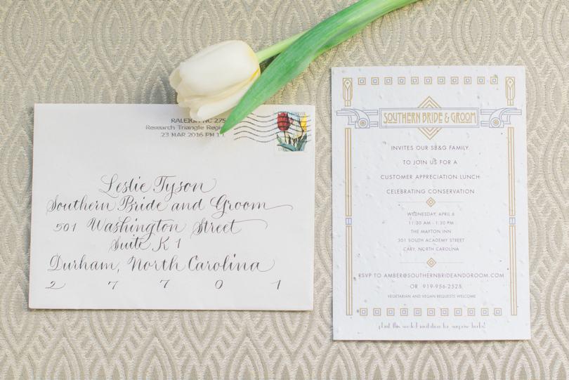 plantable wedding invitations