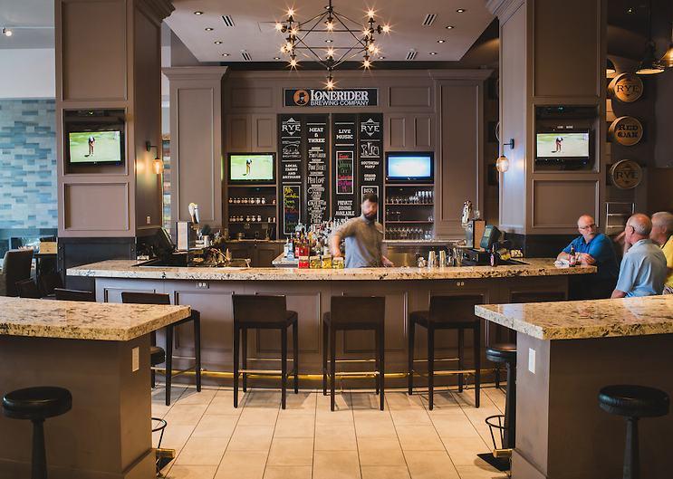 Raleigh Rye Bar Marriott