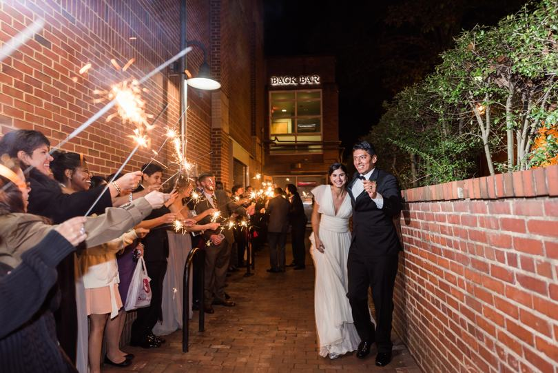 Chapel Hill bar wedding reception