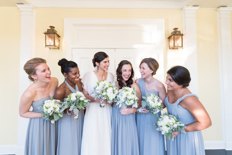 Lavendar bridesmaid dresses