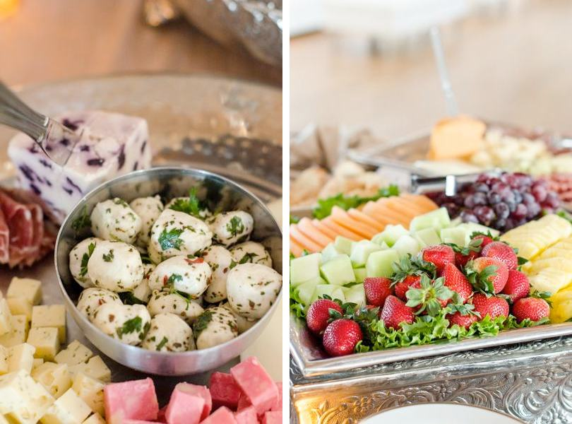 fruit-and-cheese-plates-at-wedding