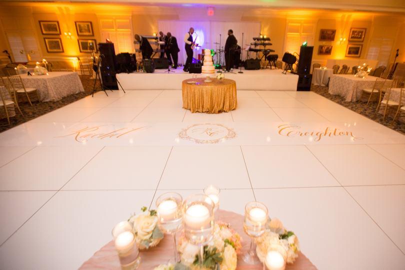 wedding-monogram-on-floor