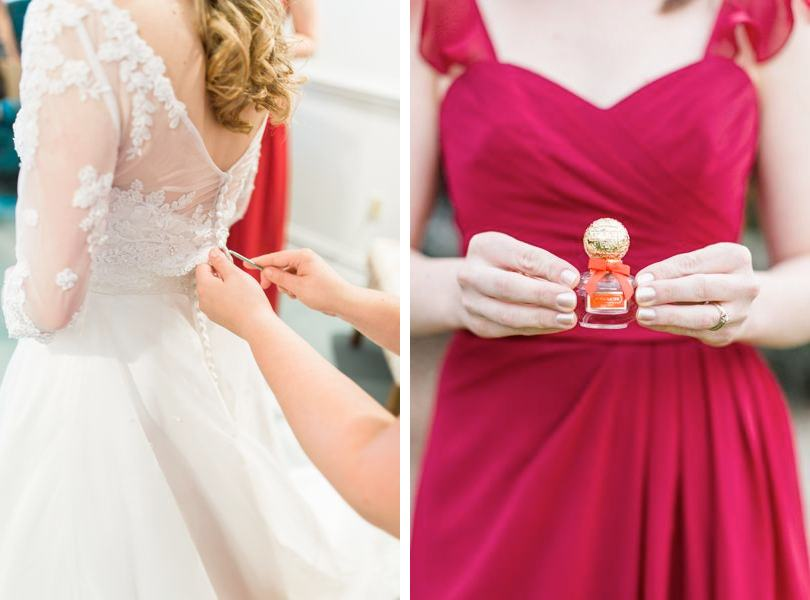 red-bridesmaid-gowns