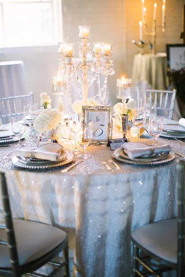 Classic wedding table design