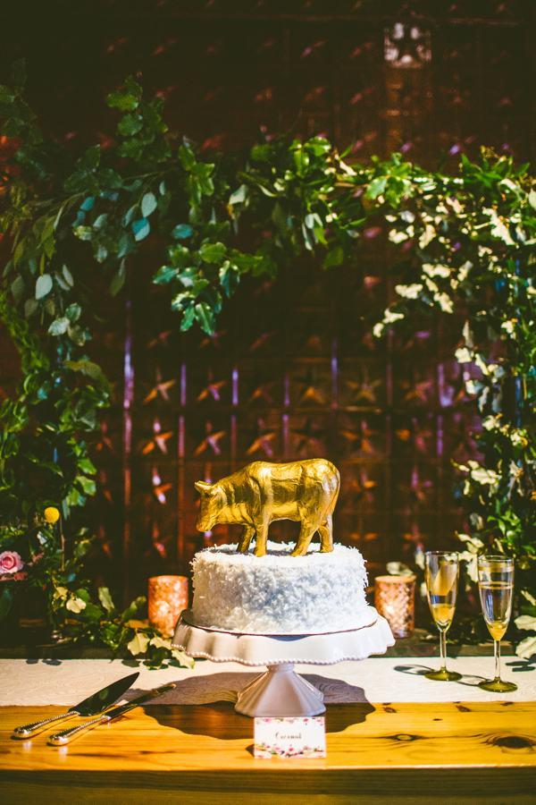 Bull City cake