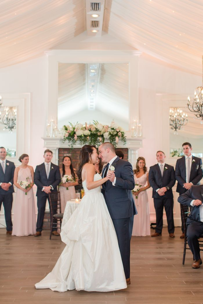 First Dance at Highgrove Wedding in Fuquay Varina by Jamie Blow Photography