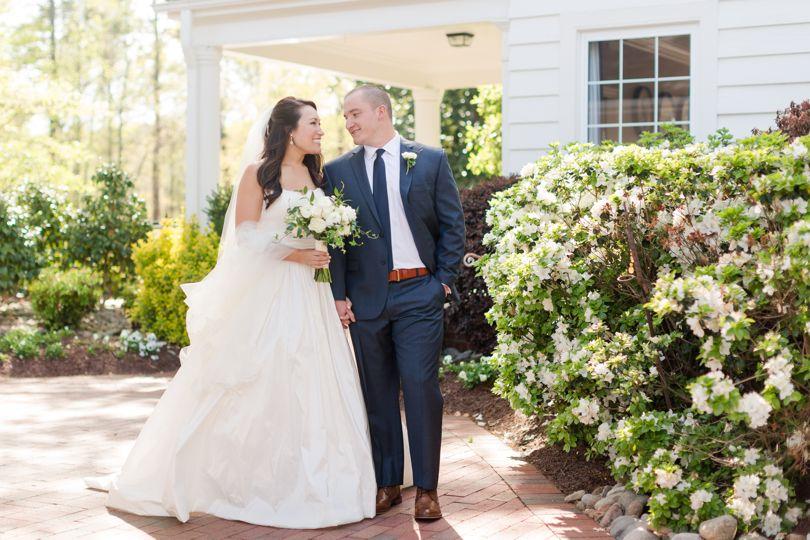 Highgrove Estate wedding wedding portrait Jamie Blow Photography