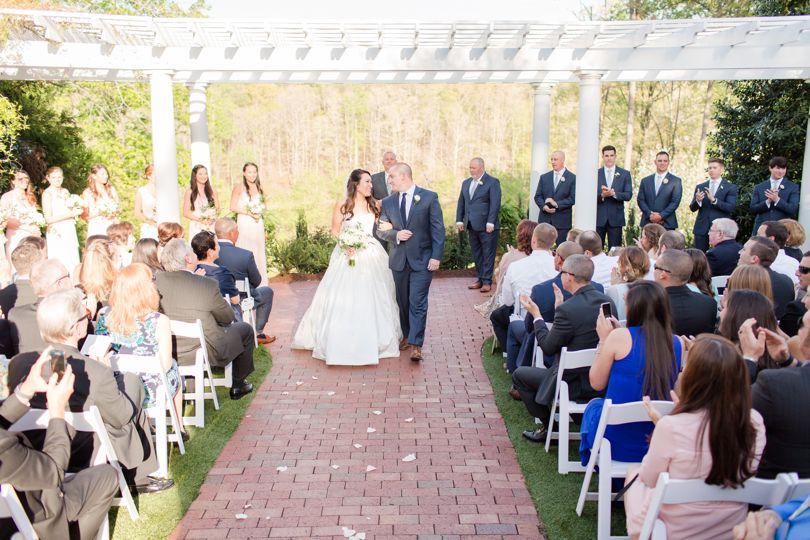 Wedding Ceremony at Highgrove Estate Jamie Blow Photography