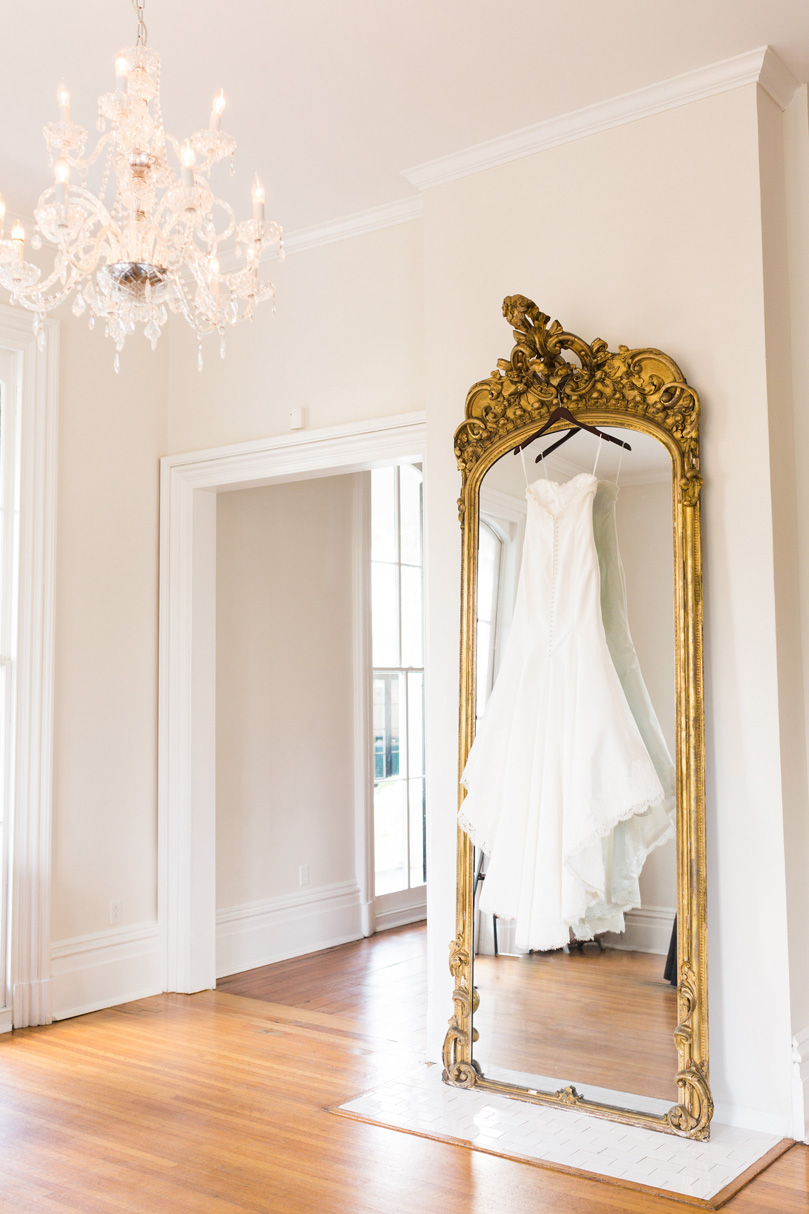 Lea Ann Strapless Gown at The Merrimon-Wynne House Melissa Delorme