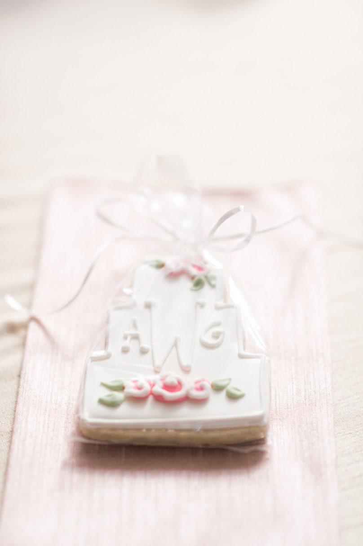 Alternative Dessert Monogram Cookie Wedding Favor Missy Loves Jerry Photography