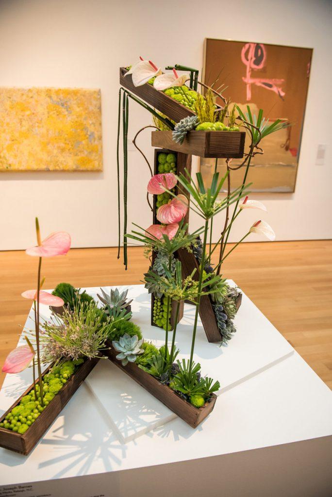 Bloom Works Art Installation at Art in Bloom 2017 f8 Photo Studios