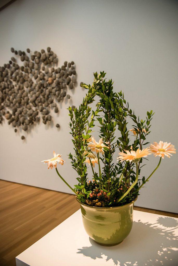 La Residence Florists in Chapel Hill art installation at Art in Bloom 2017 f8 Photo Studios