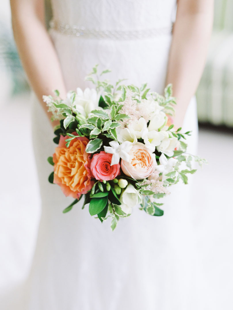 Bridal bouquet by Tre Bella Flowers Casey Rose_1