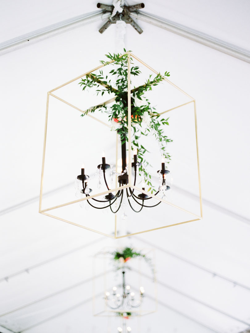 Party Reflections lighting with greenery at Kings Daughters Inn Casey Rose_1