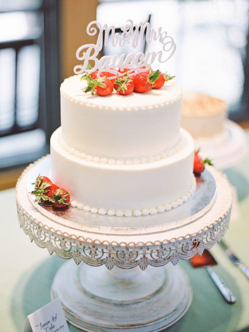 Wedding cake by Details Cake Design Kings Daughters Inn Casey Rose_1