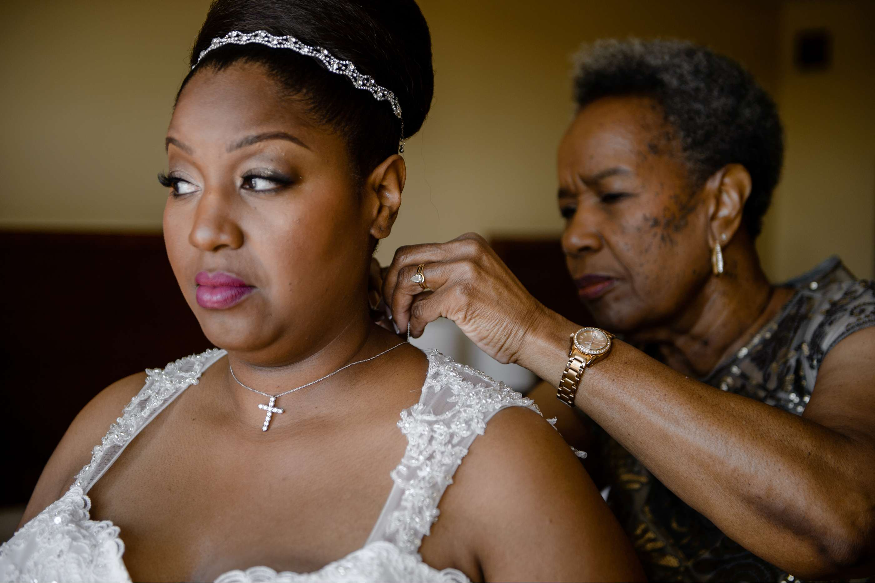Bride Getting Ready In His Image