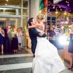 North Carolina Museum of Natural Sciences Choose Downtown Raleigh for a Unique Wedding Experience NRC 1 First Dance