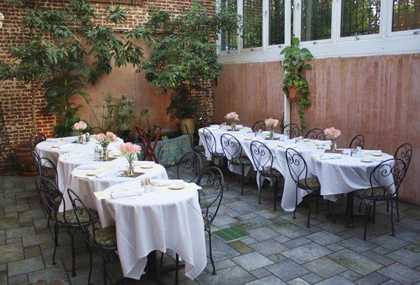 Italian Cafe Rehearsal Dinner Venue 411 west in Chapel Hill