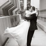 Heba Salama Photography downtown raleigh wedding portraits