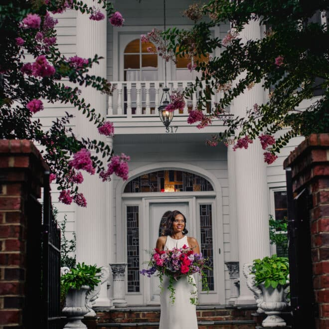 The Matthews House NC Wedding Venue Southern Charm and Style Cary NC Azul Photography