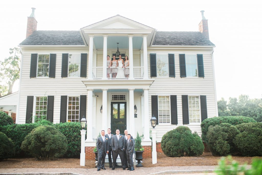 Wedding Party-at-Historical-Wedding-Venue-in-Raleigh-Durham-NC-The-Sutherland-bowtie-collaborative